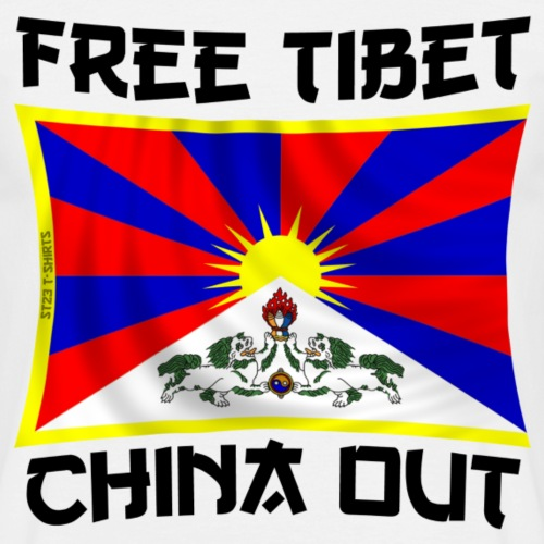 free Tibet, china out