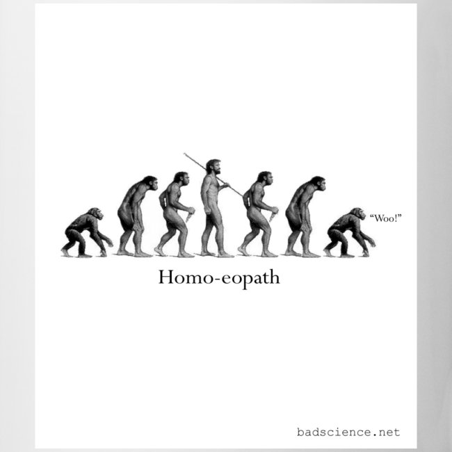 Homo-eopath Mug
