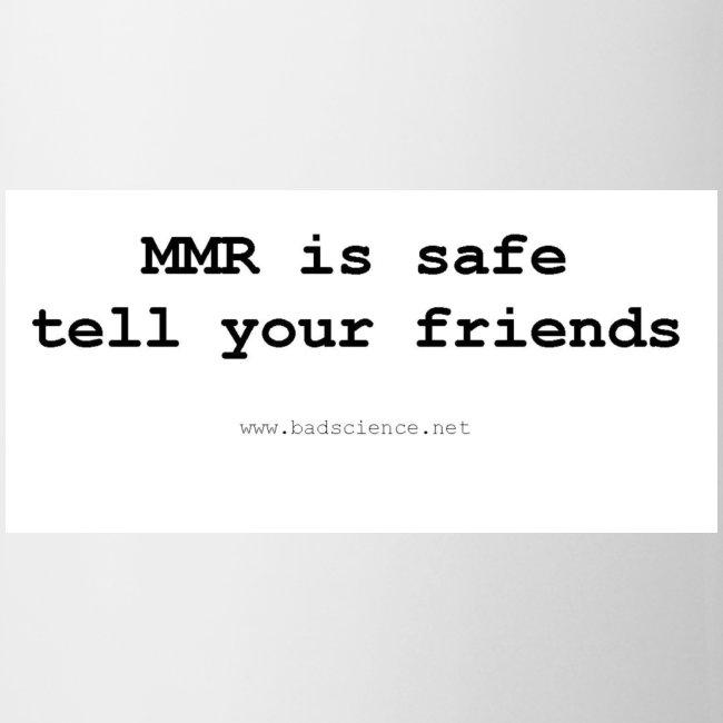 MMR is safe...