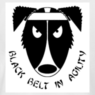 Design ~ Black Belt In Agility - Retro Tee
