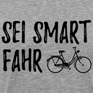 Sei Smart fahr Rad