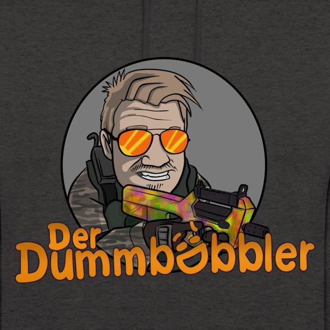 DerDummbabbler Unisex Hoodie türkies Logo