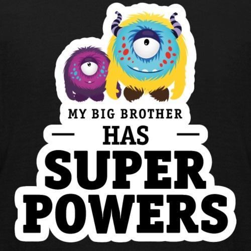 Mein großer Bruder hat Superkräfte