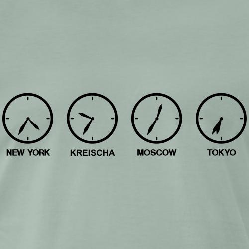Zeitzonen der Welt und Kreischa