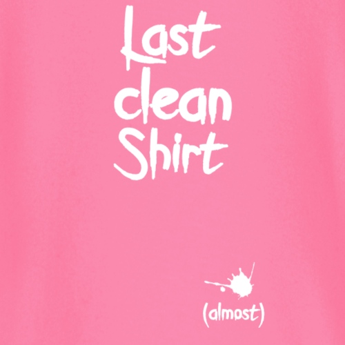 Last clean shirt weiß