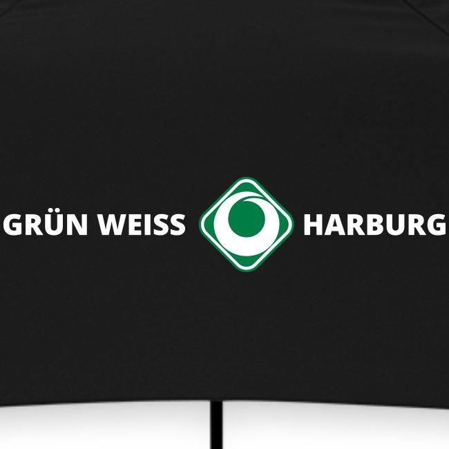 SV Grün-Weiss Harburg Regenschirm - Green Umbrella