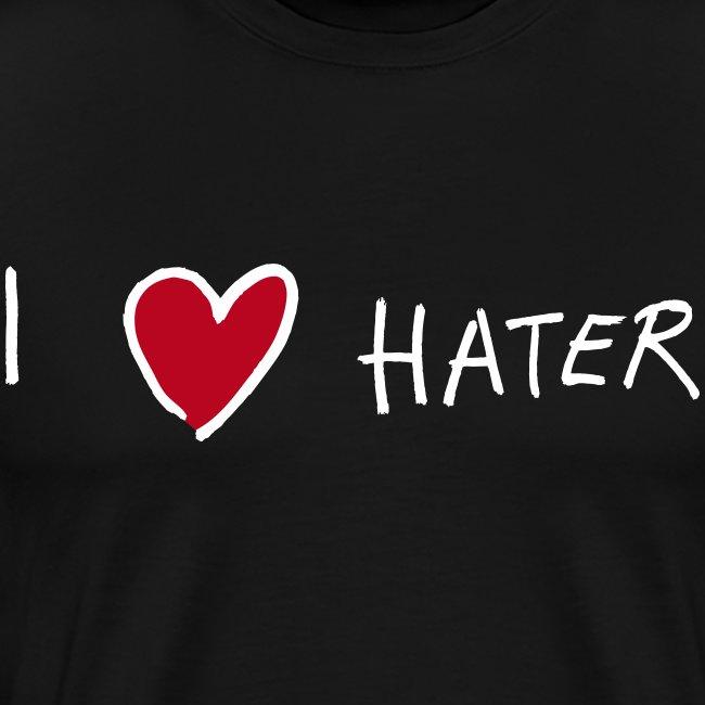 I love Hater