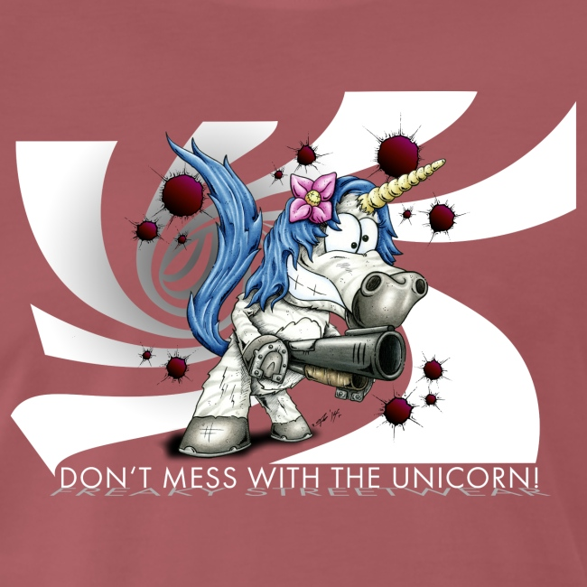 Don't mess with the unicorn blue