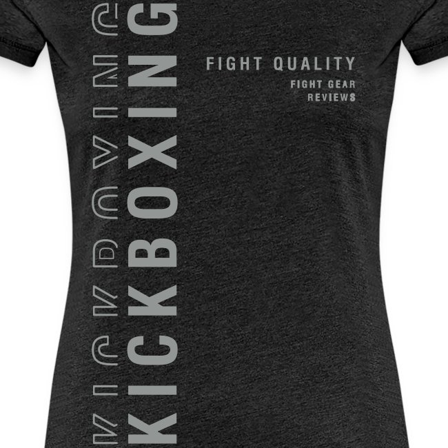 Womens Kickboxing T-Shirt