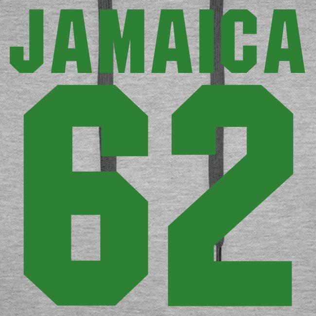 Free Jamaica 1962 - Proud Jamaicans - Rasta Hoodie