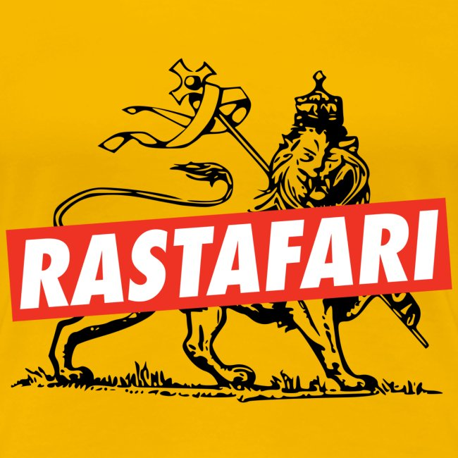 Rastafari - Lion of Judah - Rastafara - Reggae Queen Shirt