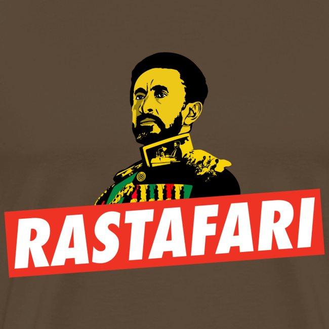 Jah Rastafari - Haile Selassie I - HIM - Reggae Emperor Shirt