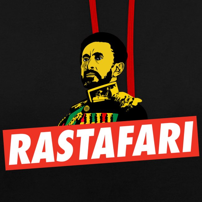 Rastafai - Haile Selassie I - HIM - Jah - Reggae Emperor Hoodie