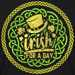 "St. Patrick's Day Shirt ""Irish for a day"""