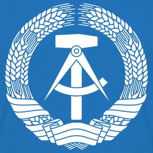 DDR Wappen (weiß)