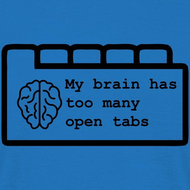My brain has too many open tabs