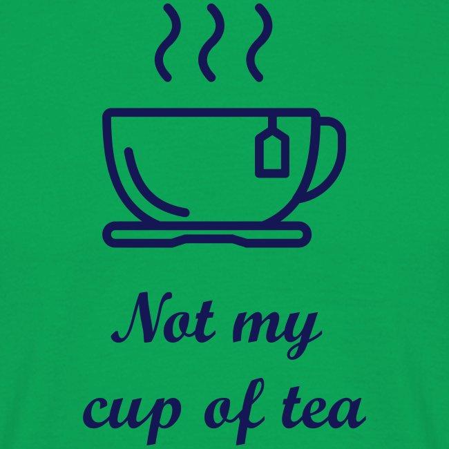 Niet mijn kop thee..