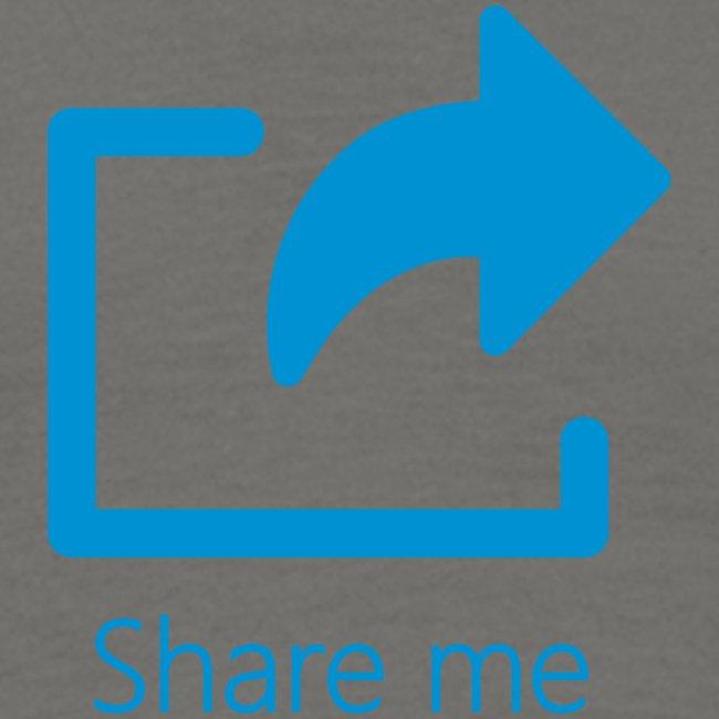 Ik ben sociaal: share me!