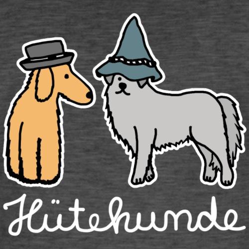 Hütehunde Hunde mit Hut