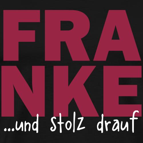 FRANKE und stolz drauf