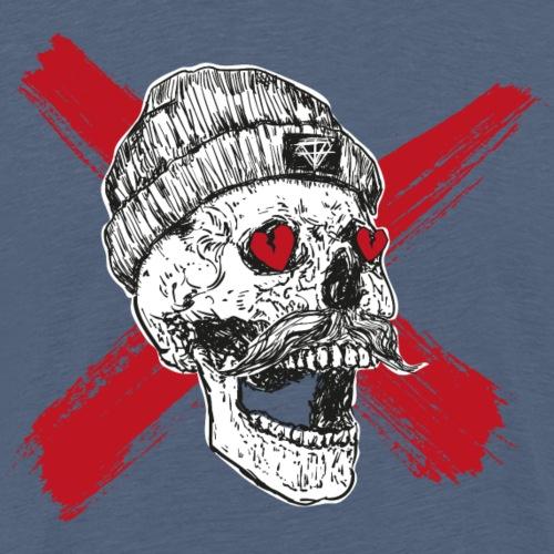 skull hipster totenkopf