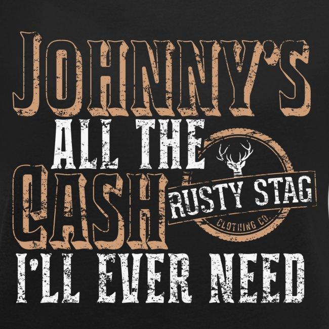 Johnny's All The Cash Ladies Scoop Neck