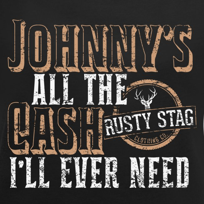 Johnny's All The Cash Ladies Scoop Neck