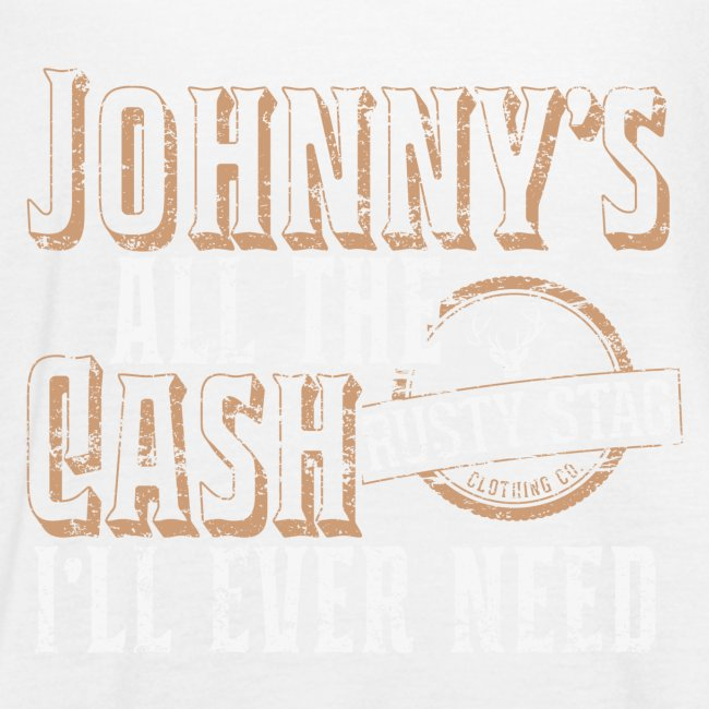 Johnny's All The Cash Ladies Racer Back