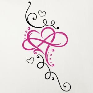 Herz mit Unendlichkeit, infinity love