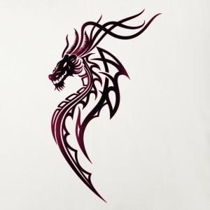 Fantasy Drache im Tattoo und Tribal Style
