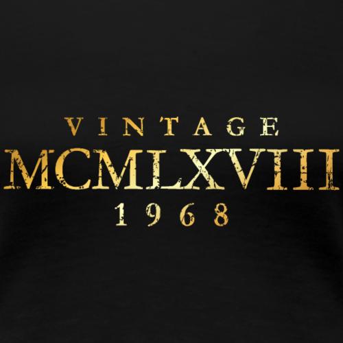 MCMLXVIII Jahrgang 1968 Geburtstag (Vintage Gold)