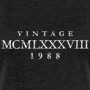 MCMLXXXVIII Jahrgang 1988 Geburtstag
