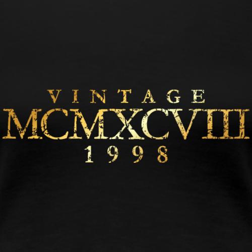 MCMXCVIII Jahrgang 1988 Geburtstag (Vintage Gold)