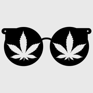 Grüne Brille
