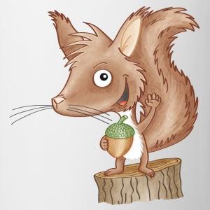 keckes Eichhörnchen
