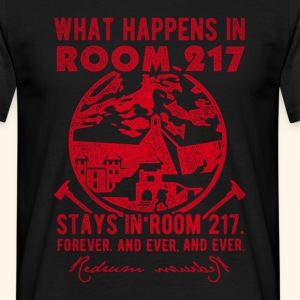 """""""What happens in room 217"""" T-Shirts"""