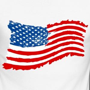 USA Grunge Flag 2