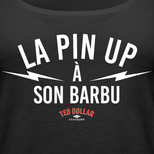 La pin-up à son barbu