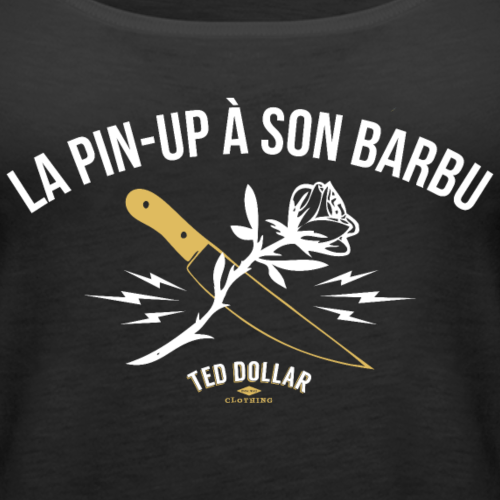 La Pinu-up à son barbu