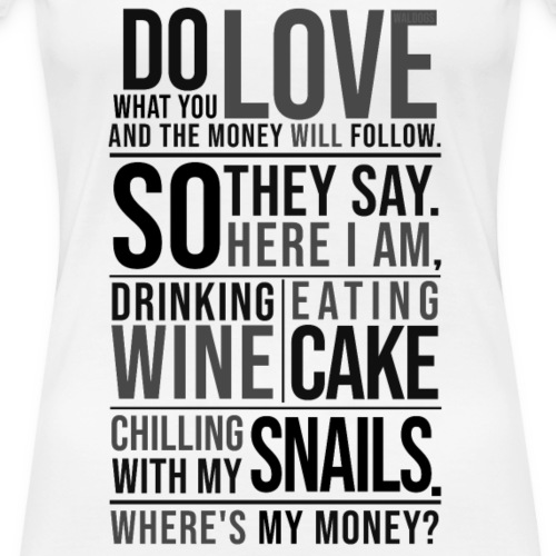 Wine, Cake, Snails - II