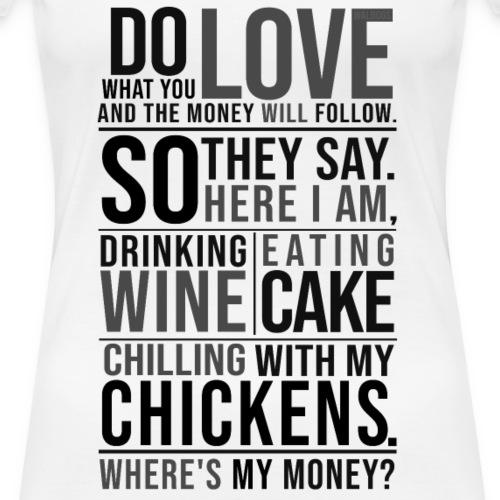 Wine, Cake, Chickens - II