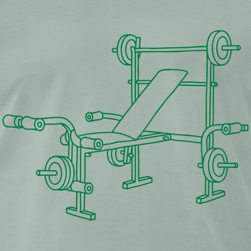 Hantelbank Bodybuilding