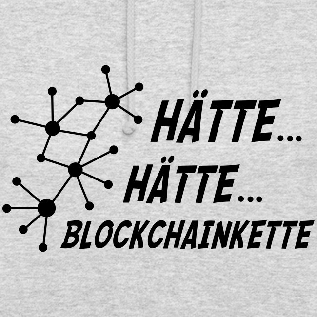 Blockchainkettenhoodie