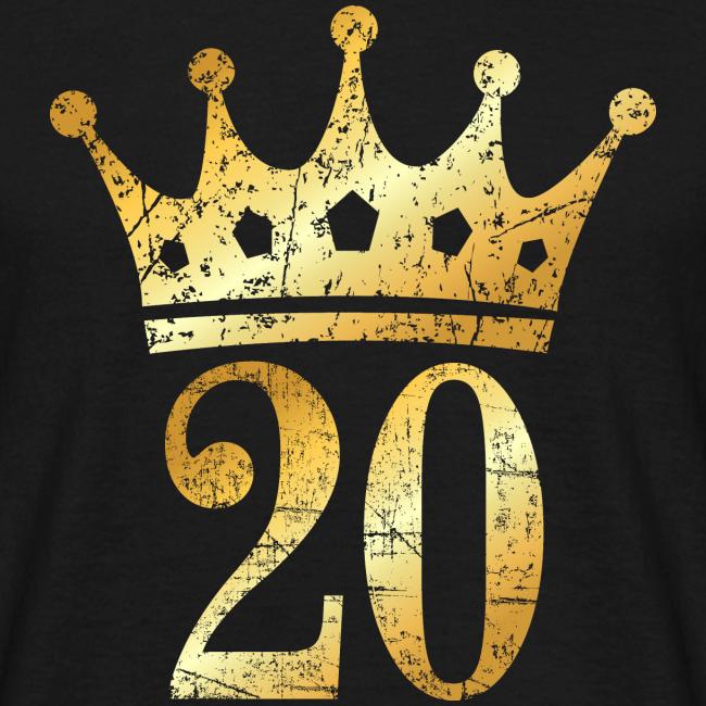 Geburtstags T Shirts Und Geschenkideen 20 Geburtstag T Shirt Mit