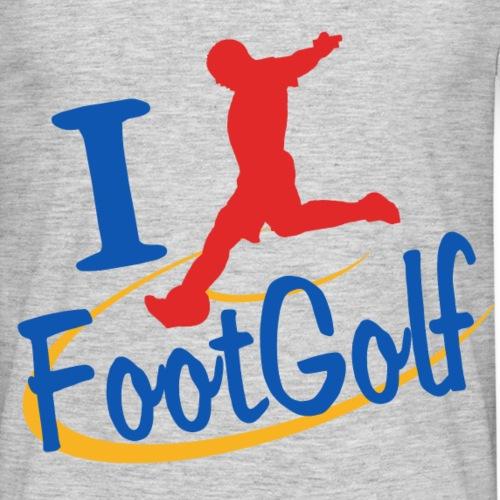 I Love FootGolf original