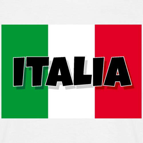 Italia - Flagge von Italien