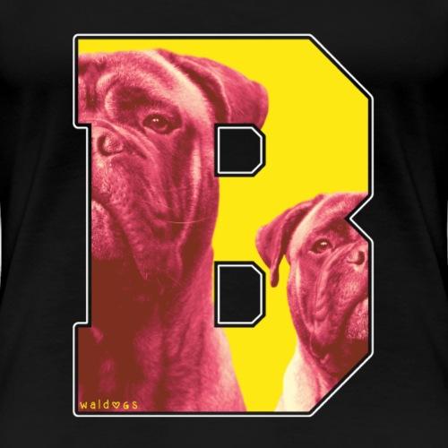 Bullmastiff Retro B