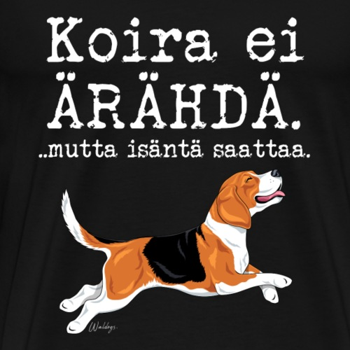 Beagle Ärähdä Isäntä