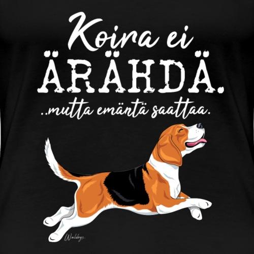 Beagle Ärähdä Emäntä