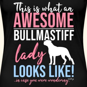 Awesome Bullmastiff Lady